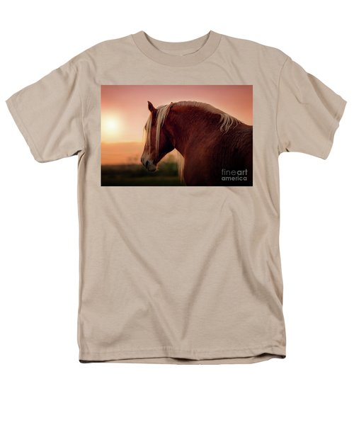 The End Of A Long Day At The Ranch Men's T-Shirt  (Regular Fit) by Tamyra Ayles
