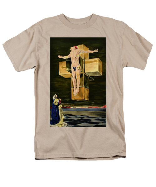 The Father Is Present -after Dali- Men's T-Shirt  (Regular Fit) by Ryan Demaree
