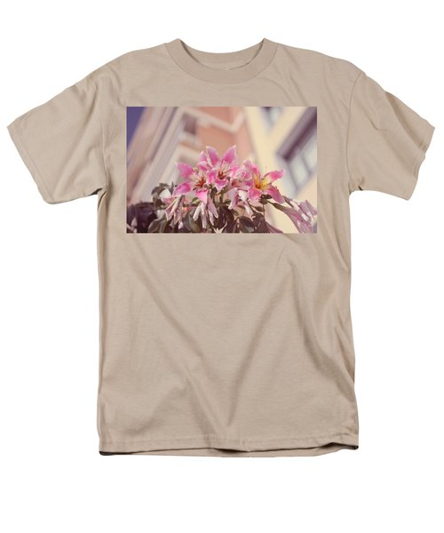 Men's T-Shirt  (Regular Fit) featuring the photograph The Flowers Of Malaga by Jenny Rainbow