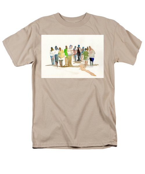 The Gathering Men's T-Shirt  (Regular Fit) by P Anthony Visco
