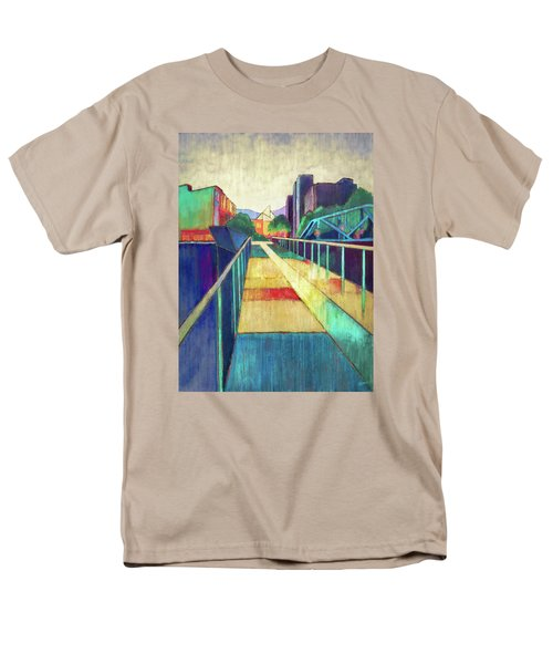 The Glass Bridge Men's T-Shirt  (Regular Fit) by Steven Llorca
