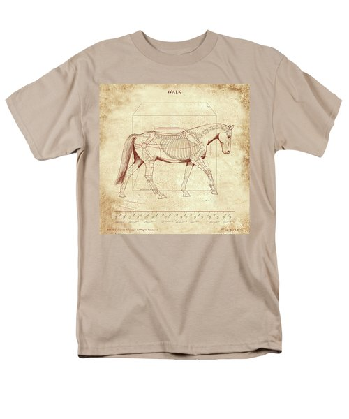 The Horse's Walk Revealed Men's T-Shirt  (Regular Fit) by Catherine Twomey