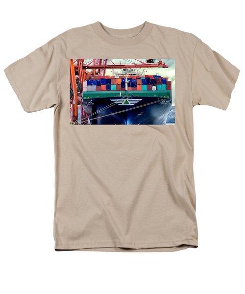 Men's T-Shirt  (Regular Fit) featuring the photograph The Hyundai Faith Seattle Washington by Michael Rogers