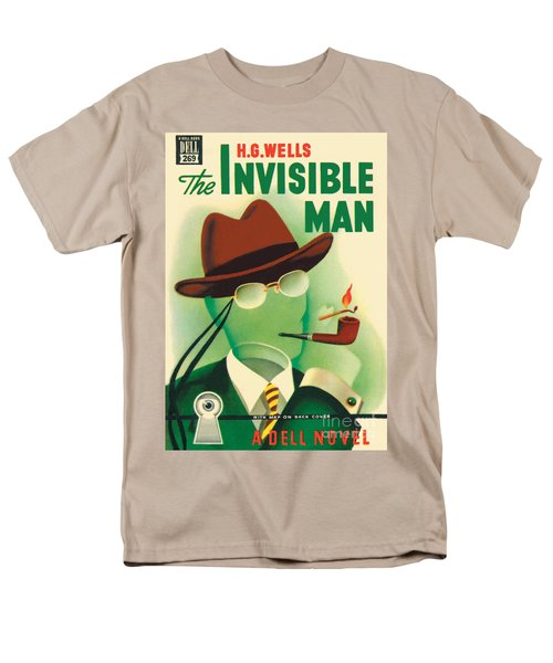 The Invisible Man Men's T-Shirt  (Regular Fit) by Gerald Gregg