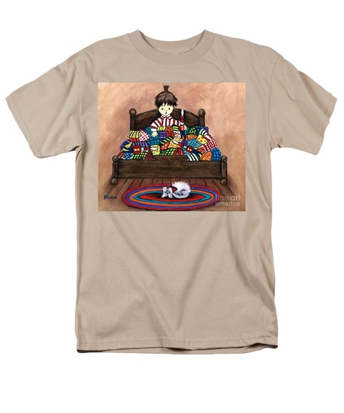 The Land Of Counterpane Men's T-Shirt  (Regular Fit)