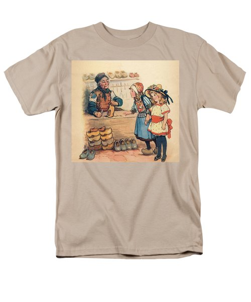 The Little Wooden Shoe Maker Men's T-Shirt  (Regular Fit) by Reynold Jay