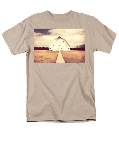 Men's T-Shirt  (Regular Fit) featuring the photograph The Long Walk by Julie Hamilton