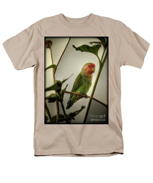 The Lovebird  Men's T-Shirt  (Regular Fit) by Saija  Lehtonen