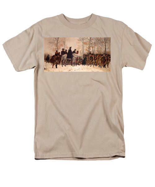 The March To Valley Forge Men's T-Shirt  (Regular Fit)