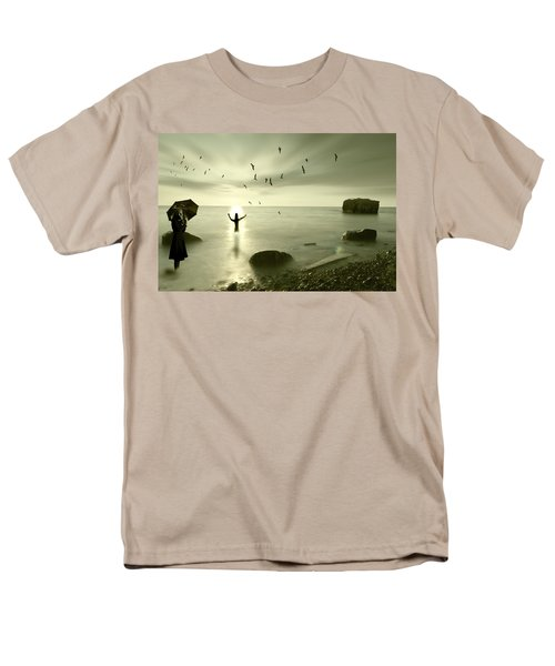 The Northern End Men's T-Shirt  (Regular Fit) by Nathan Wright