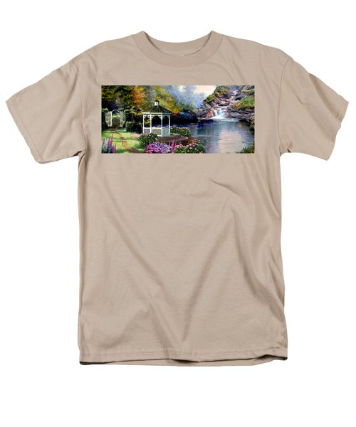 The Path Least Fallowed 2 Men's T-Shirt  (Regular Fit) by Ron Chambers