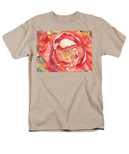 The Rose Men's T-Shirt  (Regular Fit) by Mary Haley-Rocks