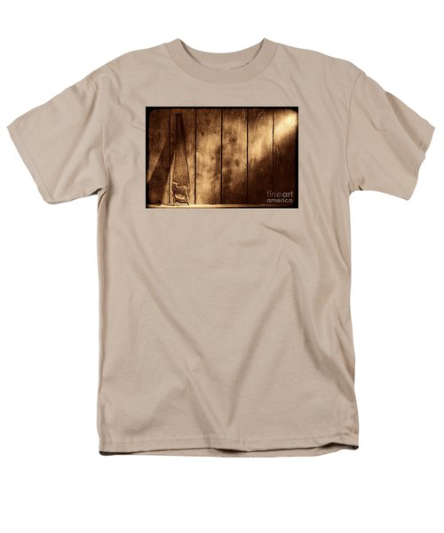 The Saw Men's T-Shirt  (Regular Fit) by American West Legend By Olivier Le Queinec
