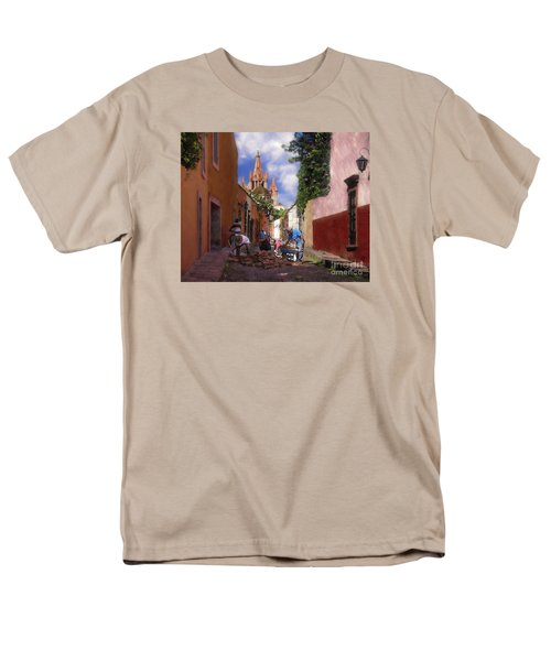 The Street Workers Men's T-Shirt  (Regular Fit) by John  Kolenberg