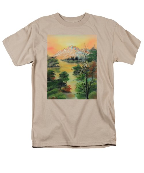 The Swamp 2 Men's T-Shirt  (Regular Fit) by Remegio Onia