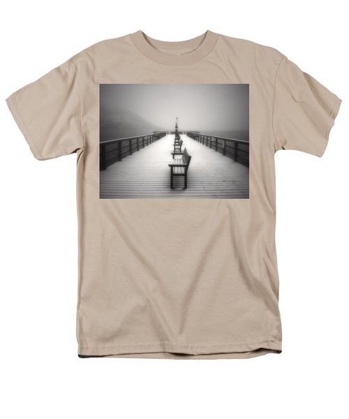 The Winter Pier Men's T-Shirt  (Regular Fit) by Tara Turner