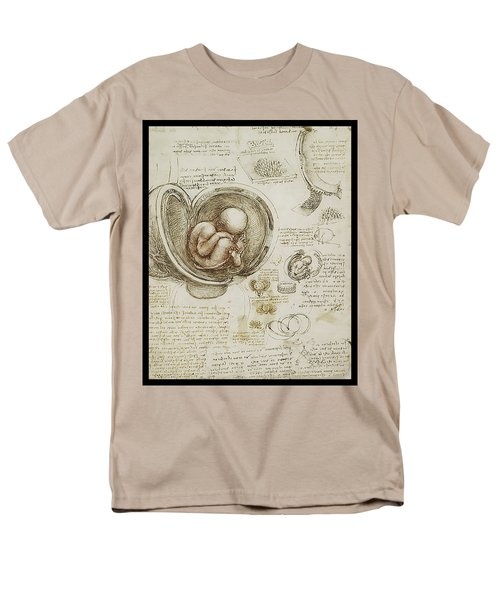 The Womb And Embreyo  Men's T-Shirt  (Regular Fit) by James Christopher Hill