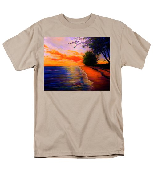 Men's T-Shirt  (Regular Fit) featuring the painting This Is Living by Emery Franklin