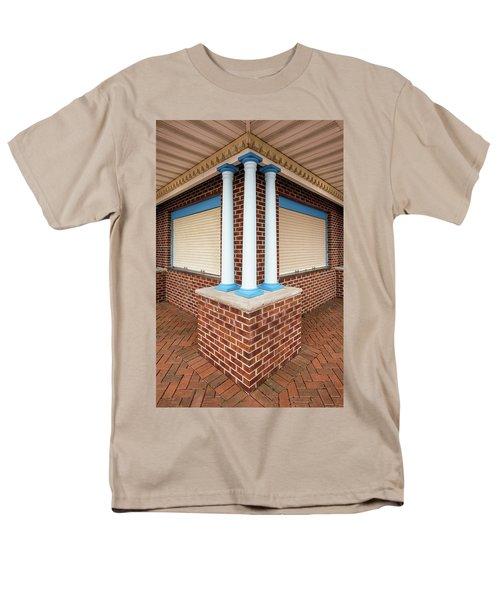 Three Pillars At The Refreshment Stand Men's T-Shirt  (Regular Fit)