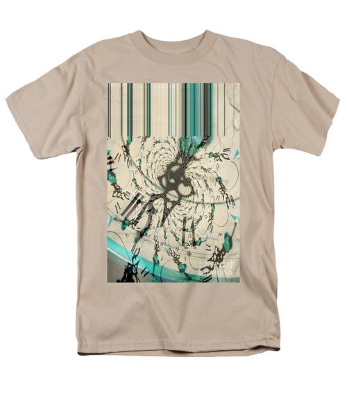 Time Ticking To The New Year Men's T-Shirt  (Regular Fit) by Donna Bentley
