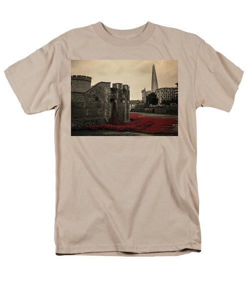 Tower Of London Men's T-Shirt  (Regular Fit) by Martin Newman