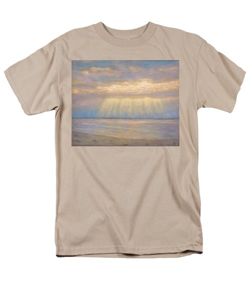 Men's T-Shirt  (Regular Fit) featuring the painting Tranquility by Joe Bergholm
