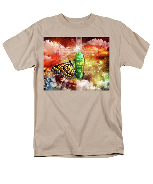 Men's T-Shirt  (Regular Fit) featuring the digital art Transformed By The Truth by Dolores Develde
