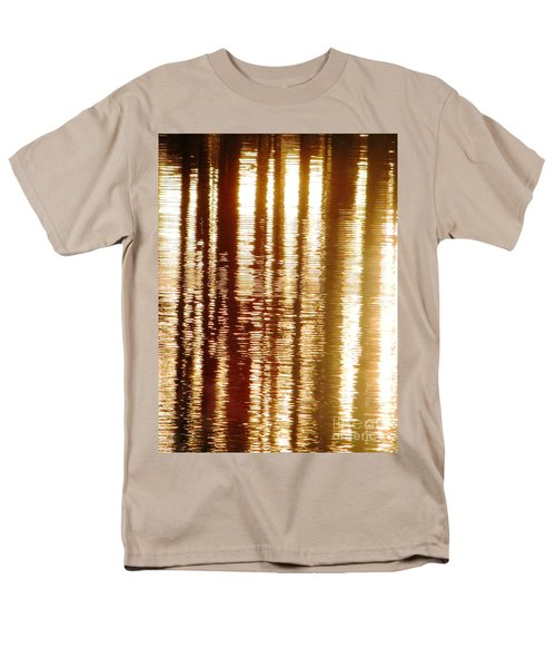 Men's T-Shirt  (Regular Fit) featuring the photograph Trees On Rippled Water by Melissa Stoudt