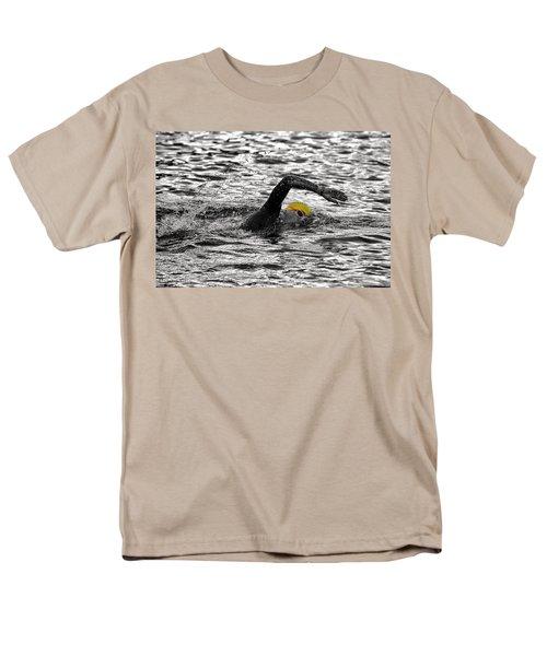 Triathlon Swimmer Men's T-Shirt  (Regular Fit)