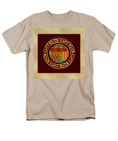 Men's T-Shirt  (Regular Fit) featuring the painting Tribal Celt Nsomba by Kandy Hurley