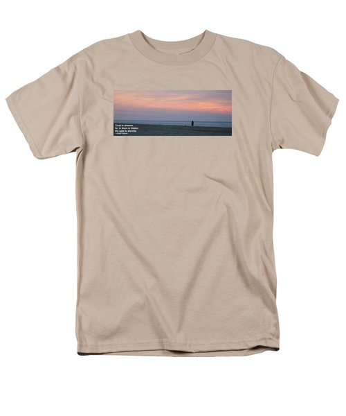 Men's T-Shirt  (Regular Fit) featuring the photograph Trust In Dreams... by Robert Banach