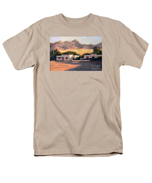 Men's T-Shirt  (Regular Fit) featuring the painting Tucson,az by Marcia Dutton