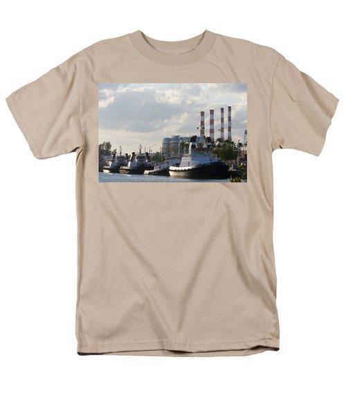 Tugs Men's T-Shirt  (Regular Fit)