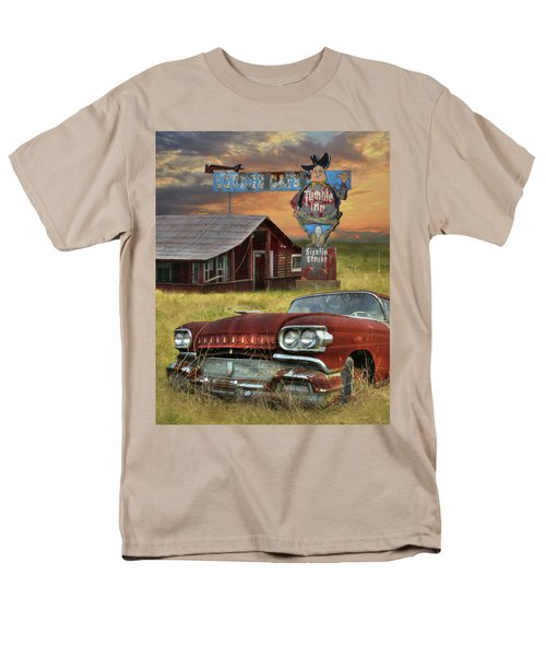 Men's T-Shirt  (Regular Fit) featuring the photograph Tumble Inn by Lori Deiter
