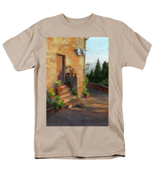 Tuscany Morning Light Men's T-Shirt  (Regular Fit) by Vikki Bouffard