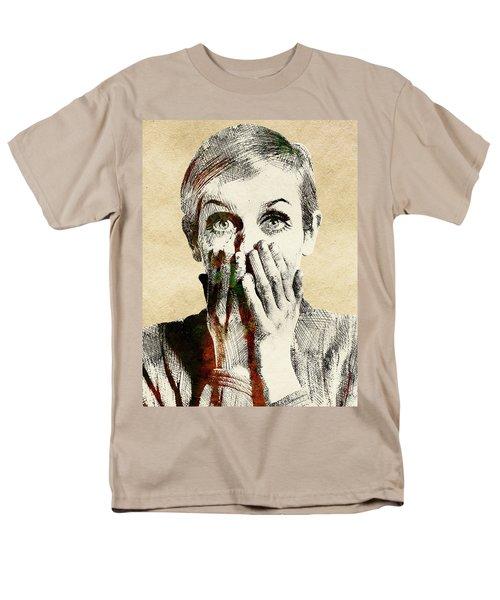 Twiggy Surprised Men's T-Shirt  (Regular Fit) by Mihaela Pater