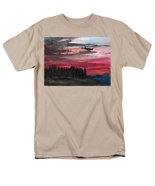 Twin Beech Late Men's T-Shirt  (Regular Fit) by R Kyllo