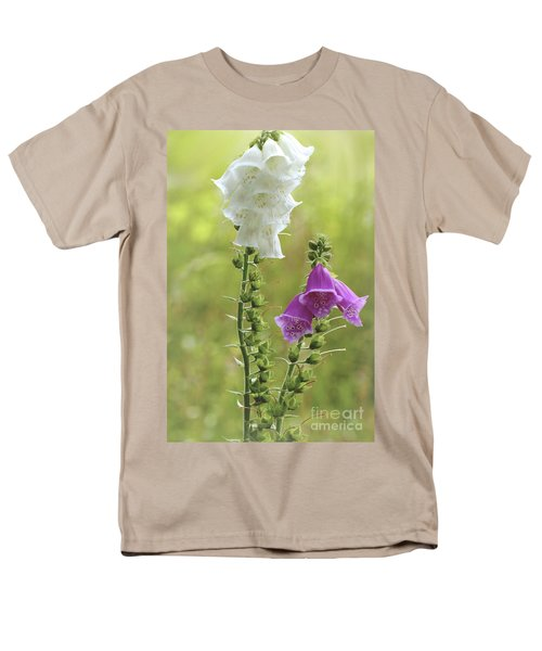 Twin Foxgloves Men's T-Shirt  (Regular Fit)