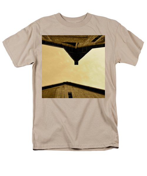 Two Barns In Sepia Men's T-Shirt  (Regular Fit) by JD Grimes