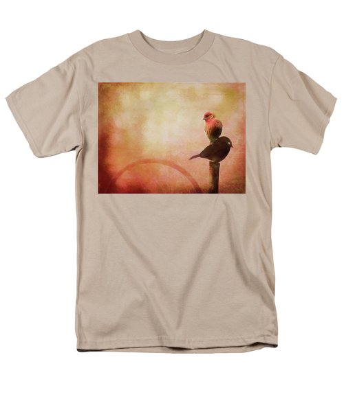 Two Birds In The Mist Men's T-Shirt  (Regular Fit) by Bellesouth Studio