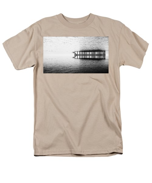 Men's T-Shirt  (Regular Fit) featuring the photograph Two Worlds by Chevy Fleet