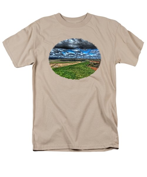 Van Duzer Vineyards View Men's T-Shirt  (Regular Fit) by Thom Zehrfeld