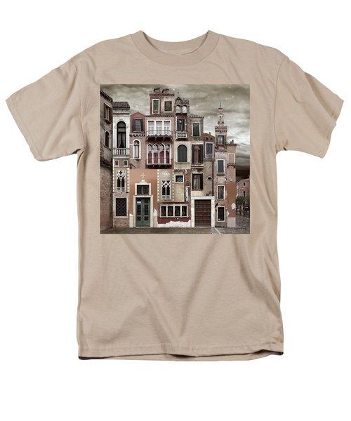 Venice Reconstruction 2 Men's T-Shirt  (Regular Fit) by Joan Ladendorf