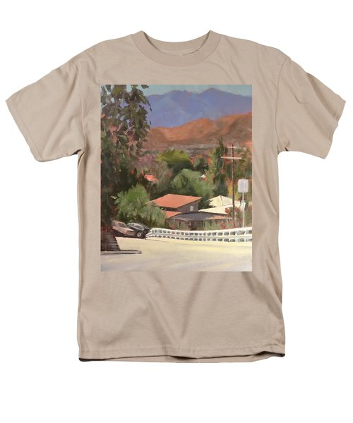 View From Moon Men's T-Shirt  (Regular Fit) by Richard Willson