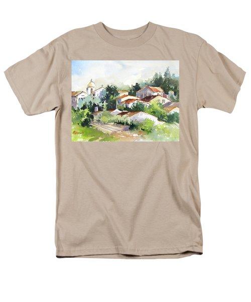 Village Life 5 Men's T-Shirt  (Regular Fit) by Rae Andrews