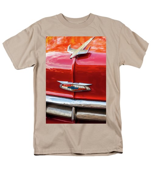 Vintage Chevy Hood Ornament Havana Cuba Men's T-Shirt  (Regular Fit) by Charles Harden