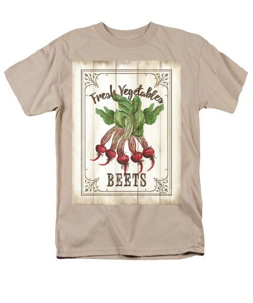 Men's T-Shirt  (Regular Fit) featuring the painting Vintage Fresh Vegetables 1 by Debbie DeWitt