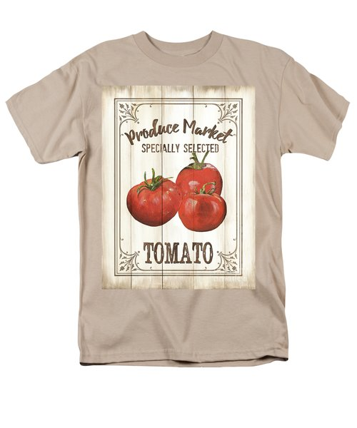 Men's T-Shirt  (Regular Fit) featuring the painting Vintage Fresh Vegetables 4 by Debbie DeWitt