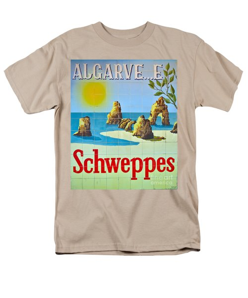 Vintage Schweppes Algarve Mosaic Men's T-Shirt  (Regular Fit) by Angelo DeVal