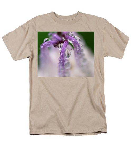 Men's T-Shirt  (Regular Fit) featuring the photograph Violet Mist by Susan Capuano